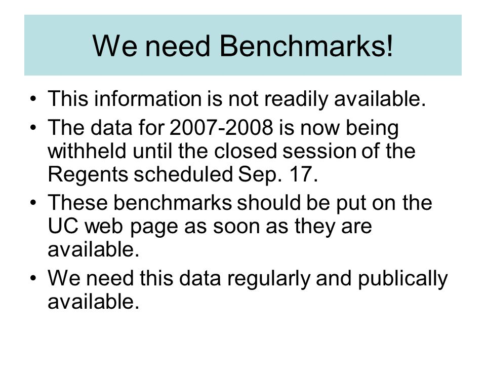 We need Benchmarks! This information is not readily available.