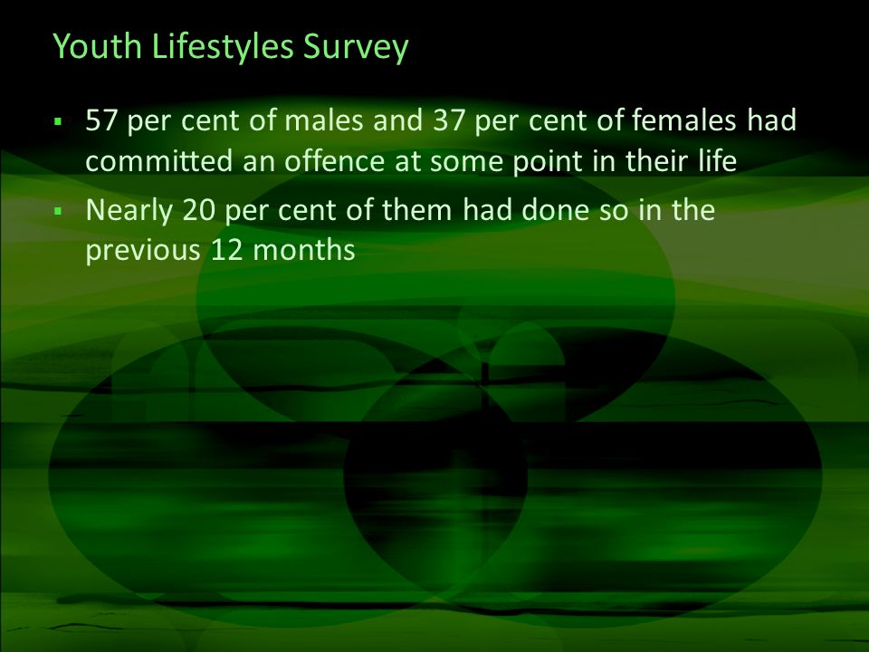 Youth Lifestyles Survey