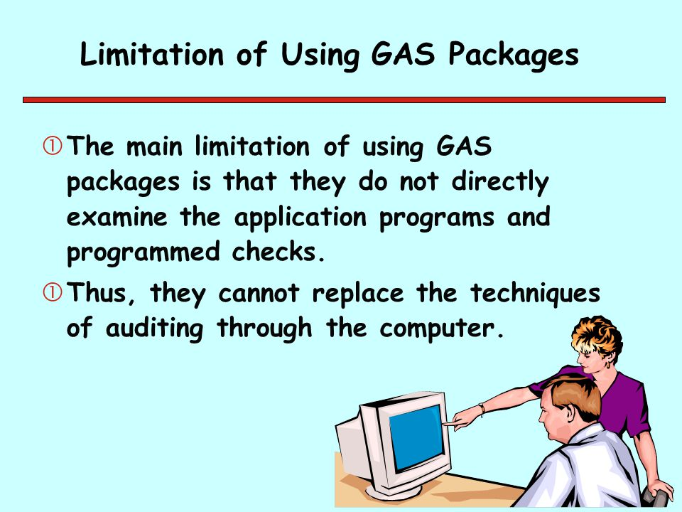 Limitation of Using GAS Packages