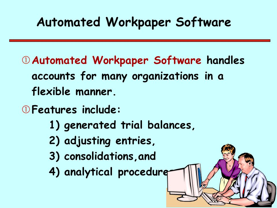 Automated Workpaper Software