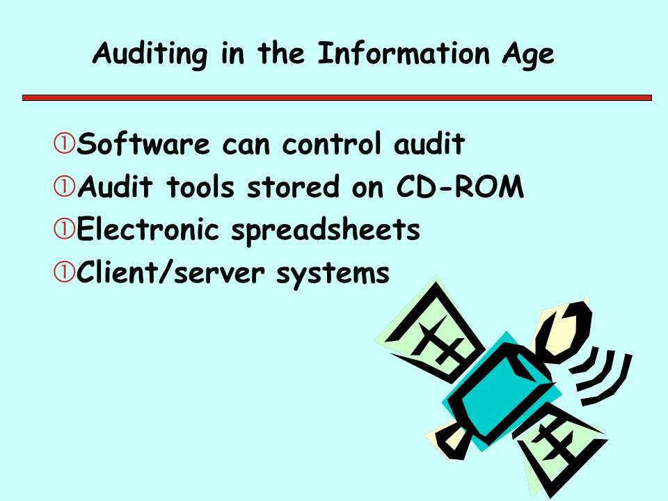 Auditing in the Information Age