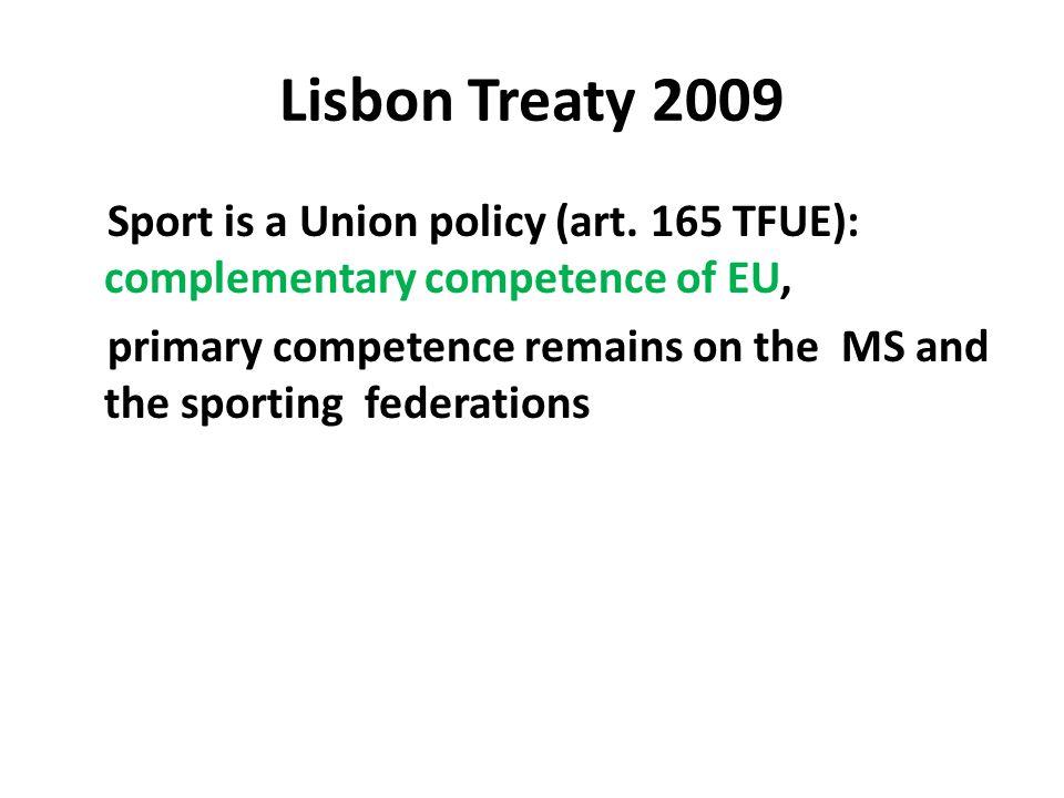 Lisbon Treaty 2009