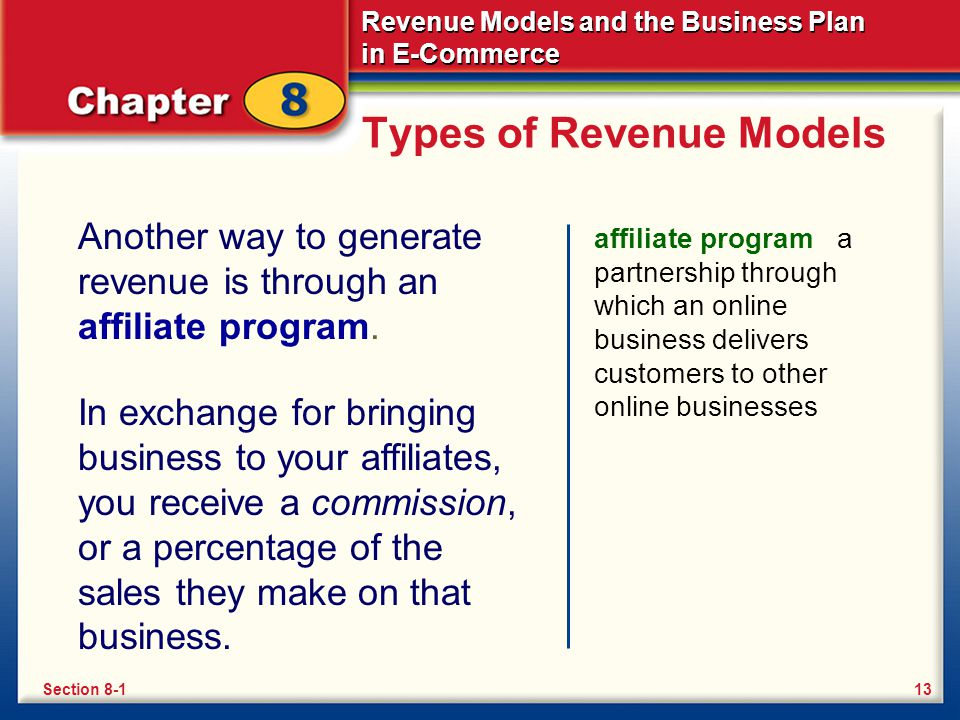 Types of Revenue Models
