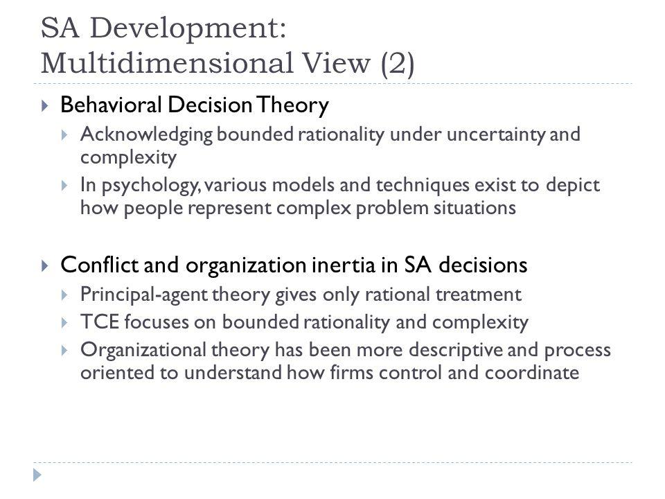 SA Development: Multidimensional View (2)