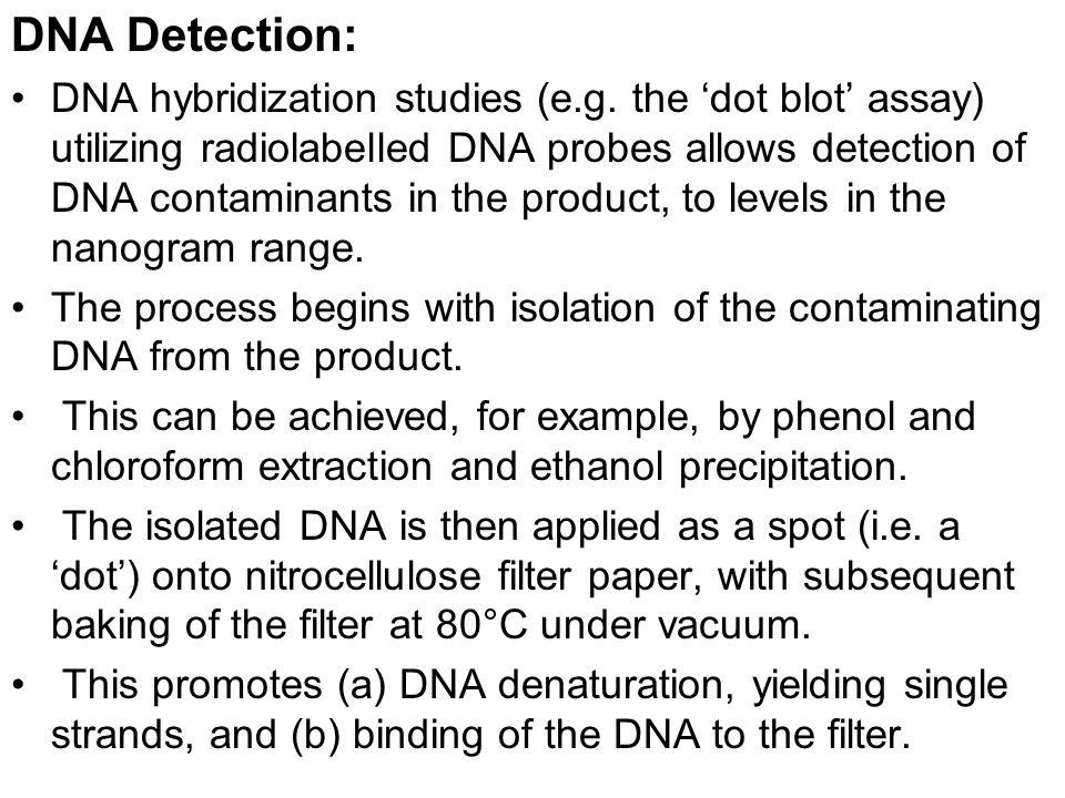 DNA Detection: