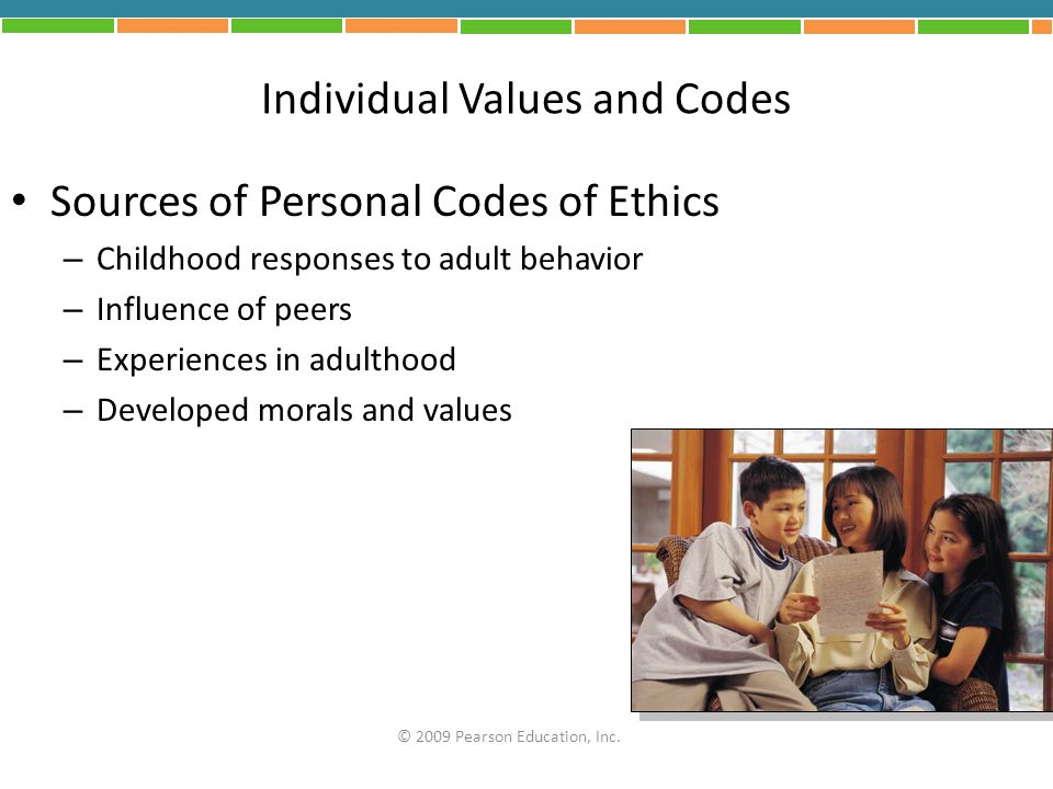 Individual Values and Codes