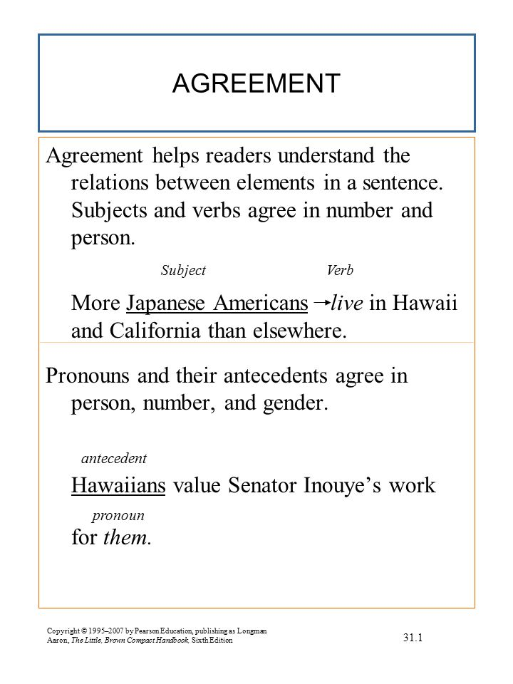 WAYS TO CORRECT AGREEMENT WITH INDEFINITE WORDS