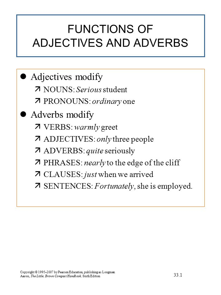 DEGREES OF IRREGULAR ADJECTIVES AND ADVERBS