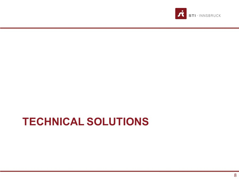 TECHNICAL SOLUTIONS 8
