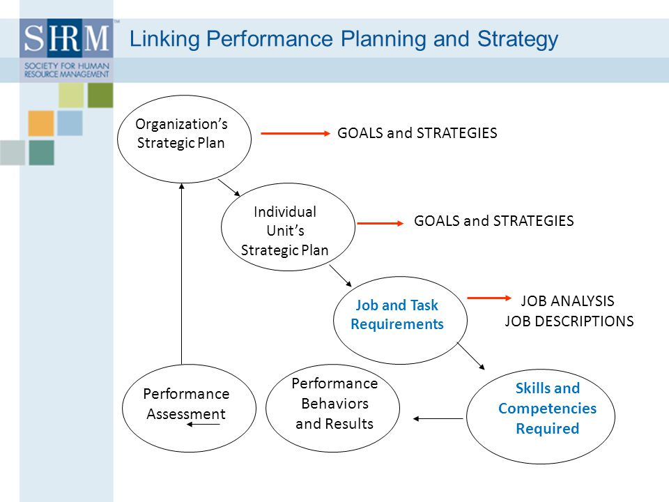 Linking Performance Planning and Strategy
