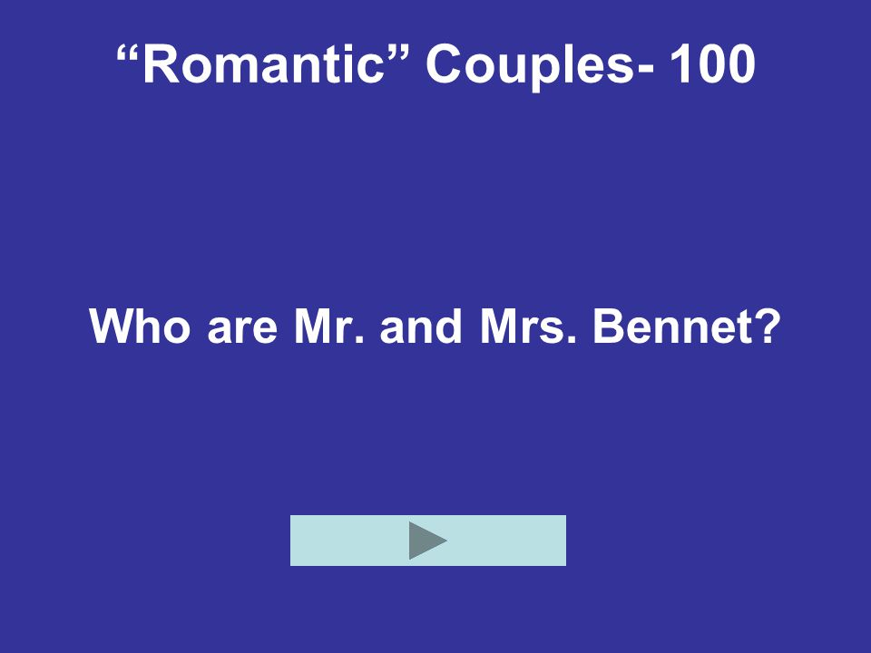 Who are Mr. and Mrs. Bennet