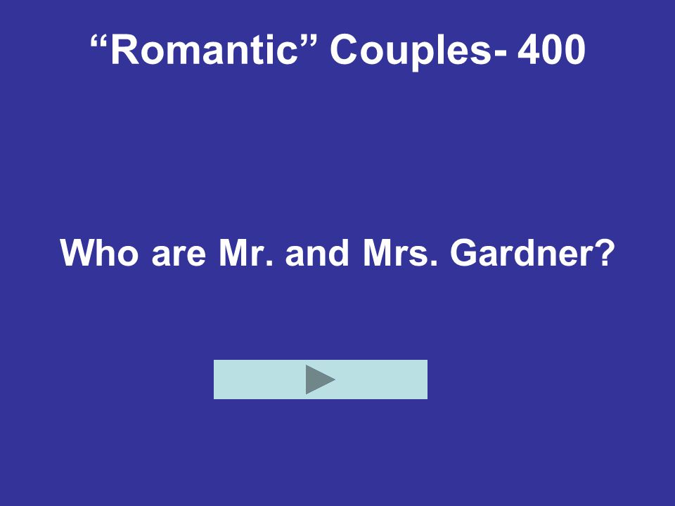 Who are Mr. and Mrs. Gardner