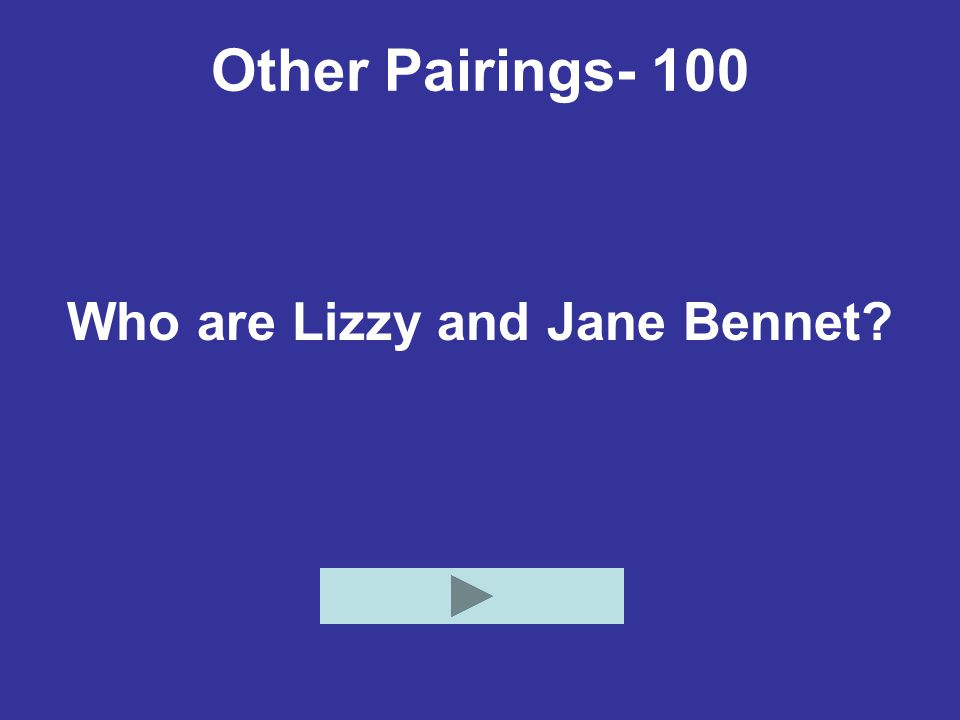 Who are Lizzy and Jane Bennet