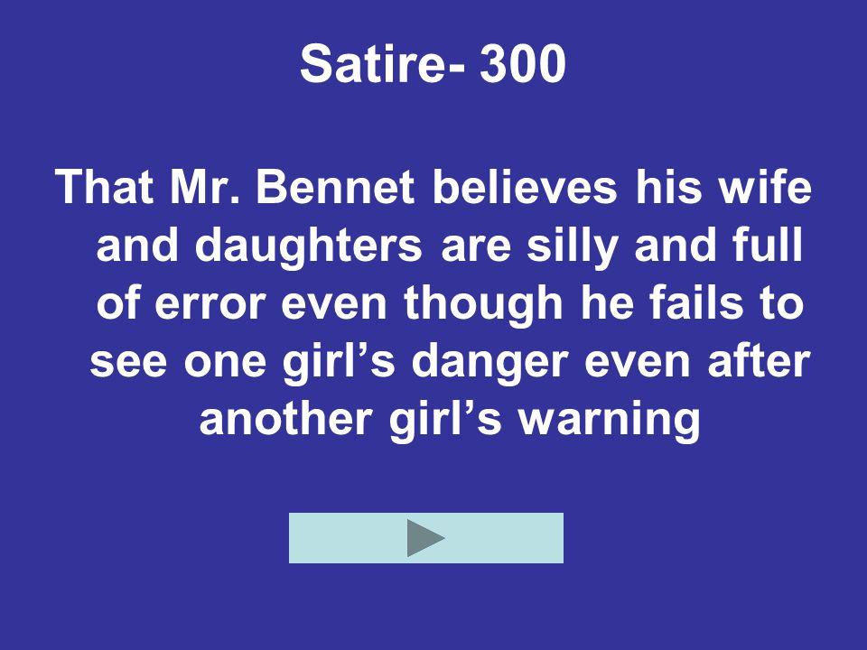 Satire- 300