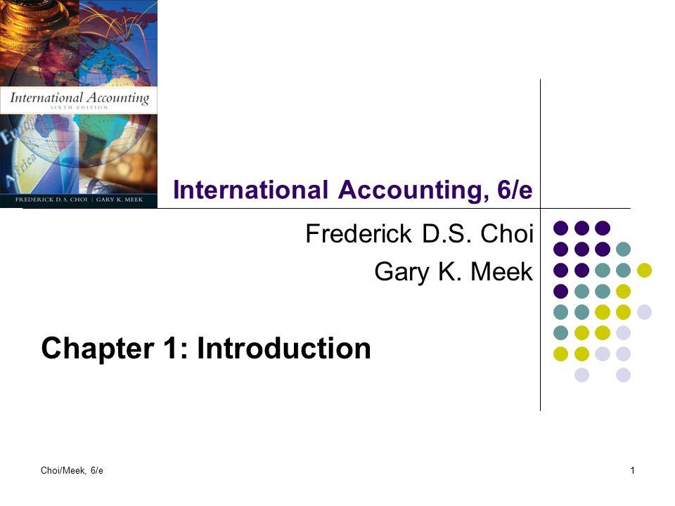 International Accounting, 6/e
