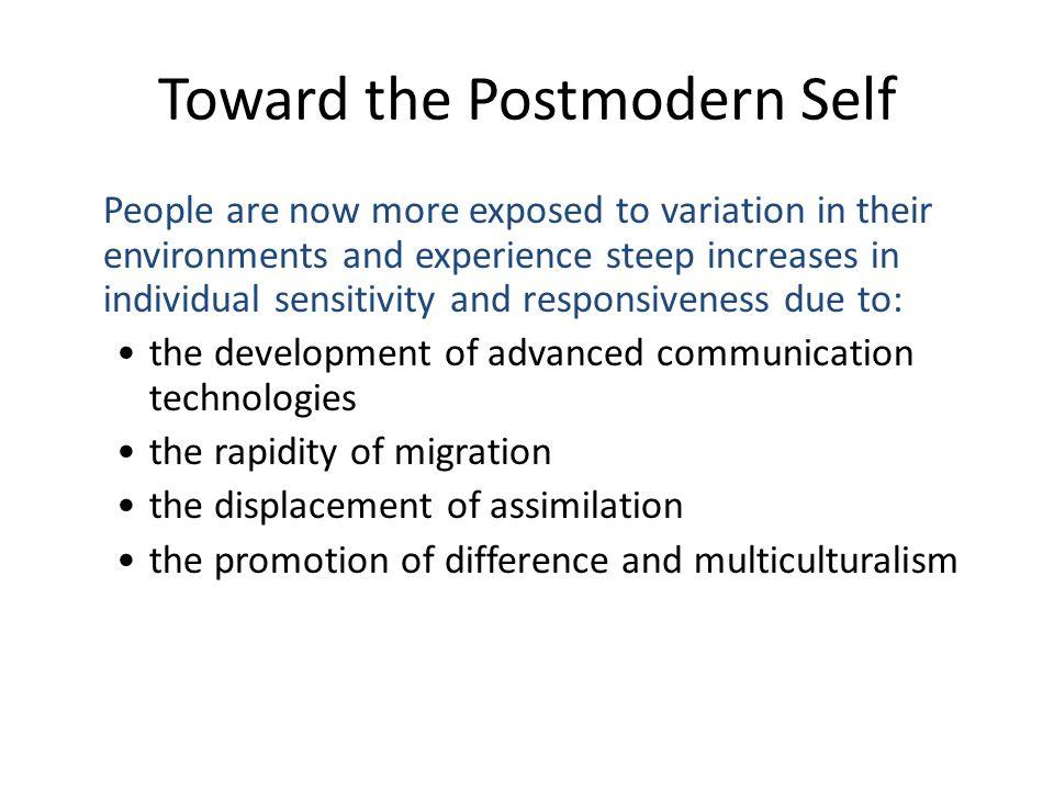 Toward the Postmodern Self