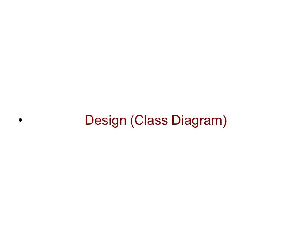 Design (Class Diagram)