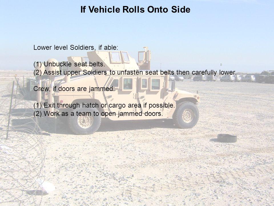 If Vehicle Rolls Onto Side