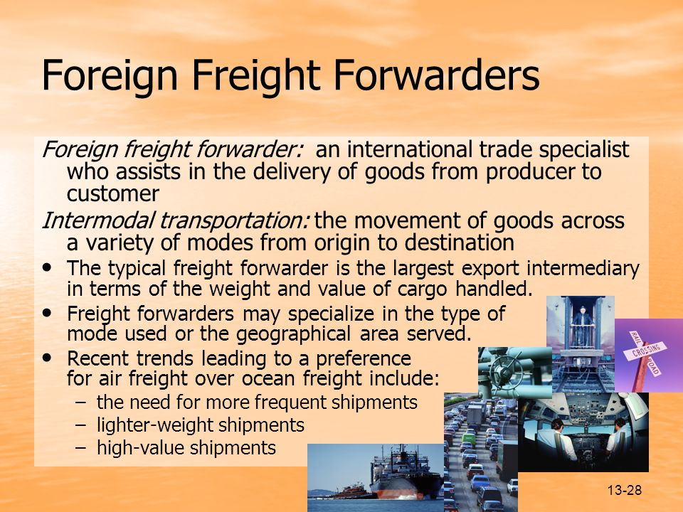 Foreign Freight Forwarders