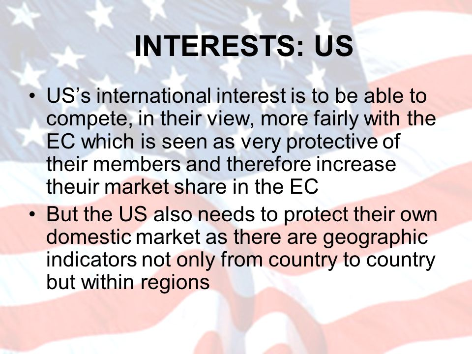 INTERESTS: US