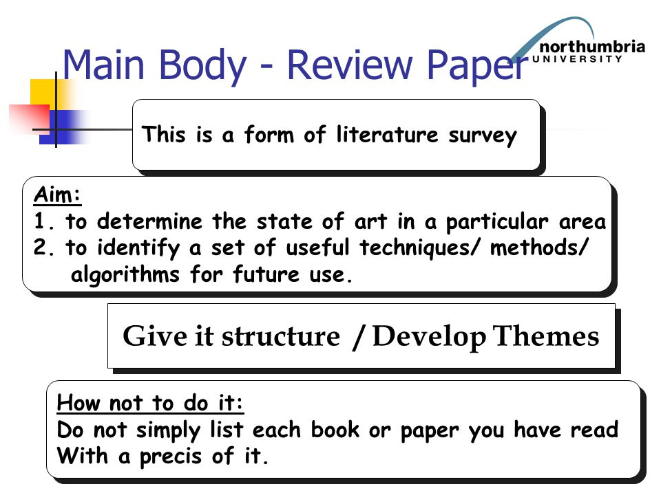 Main Body - Review Paper