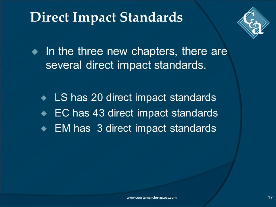Direct Impact Standards