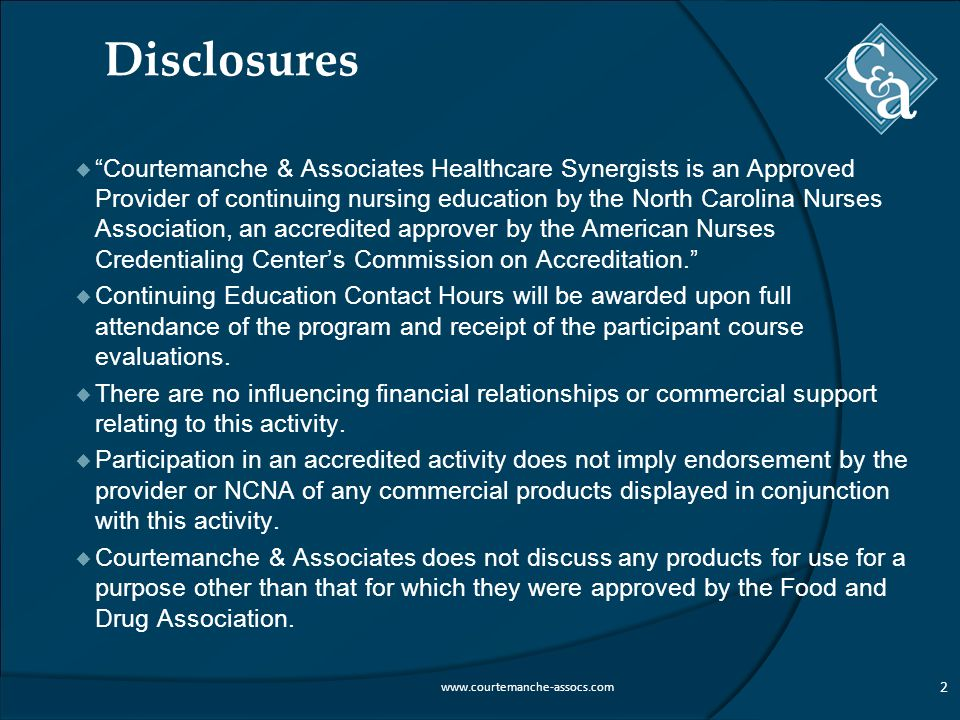 Courtemanche & Associates Healthcare Synergists
