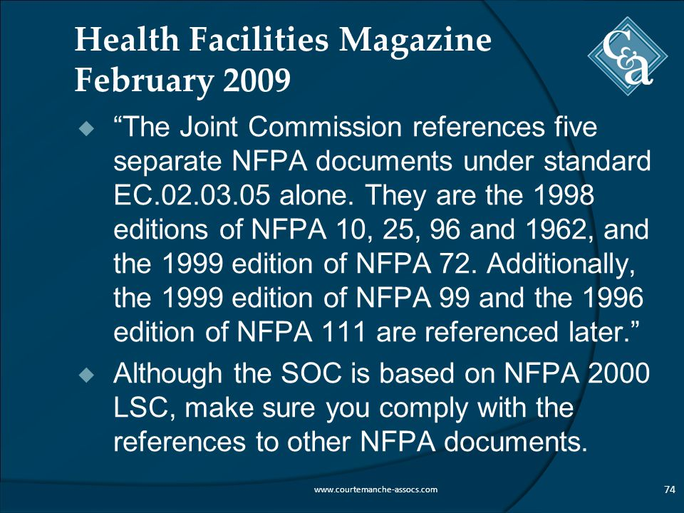 Health Facilities Magazine February 2009