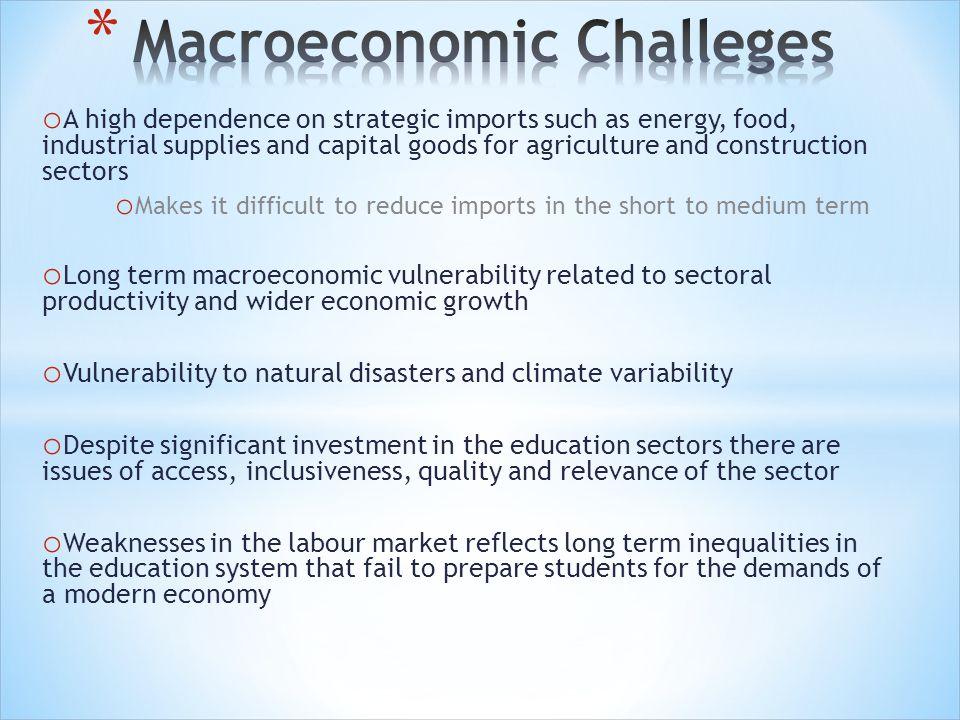 Macroeconomic Challeges