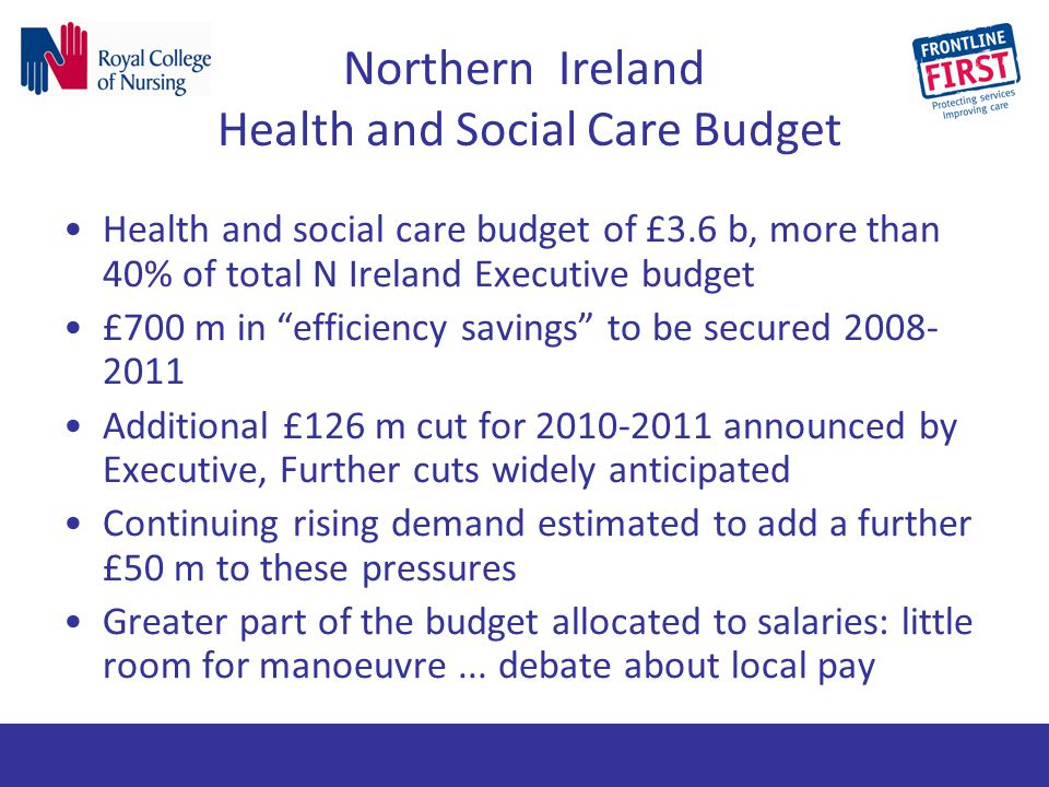 Northern Ireland Health and Social Care Budget