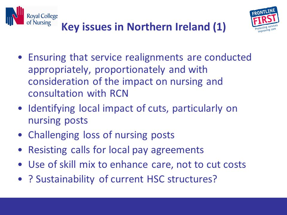 Key issues in Northern Ireland (1)