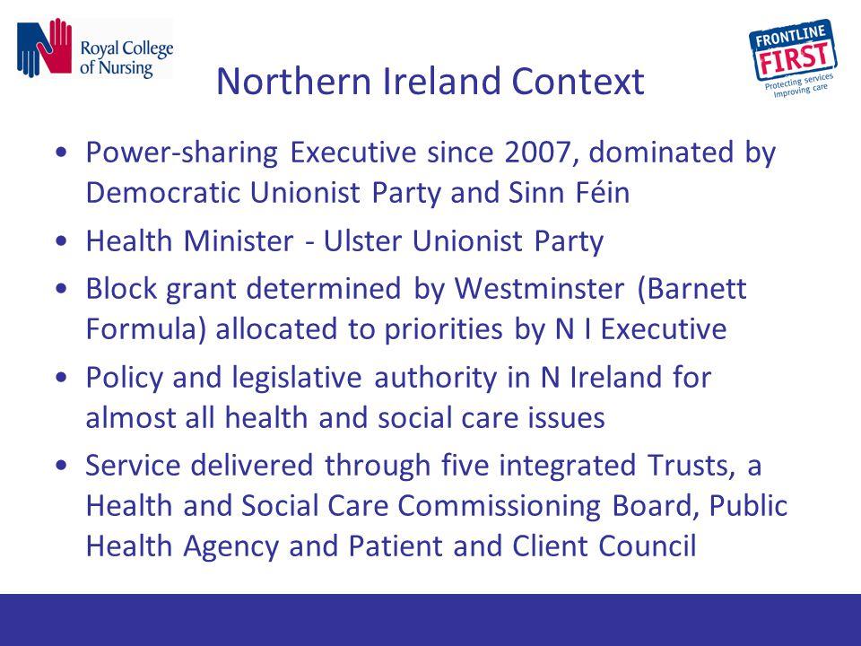 Northern Ireland Context