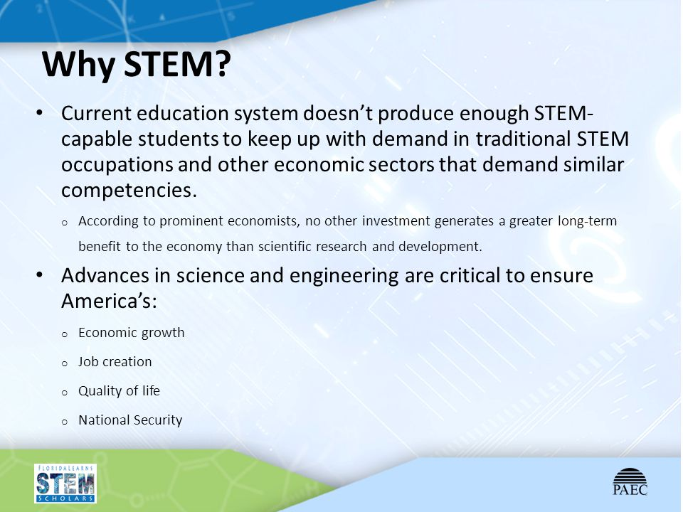 Why STEM