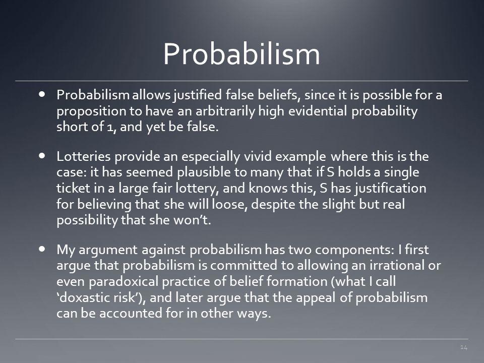 Probabilism