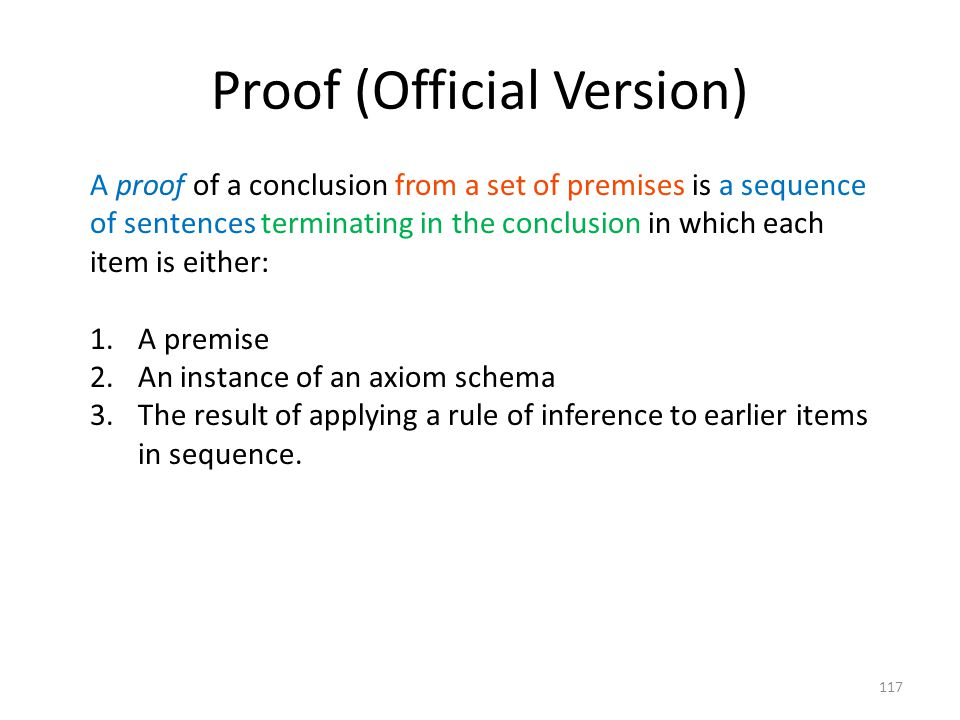 Proof (Official Version)