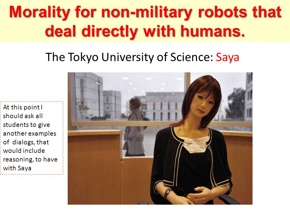 The Tokyo University of Science: Saya