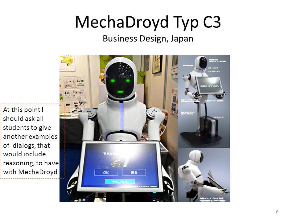 MechaDroyd Typ C3 Business Design, Japan