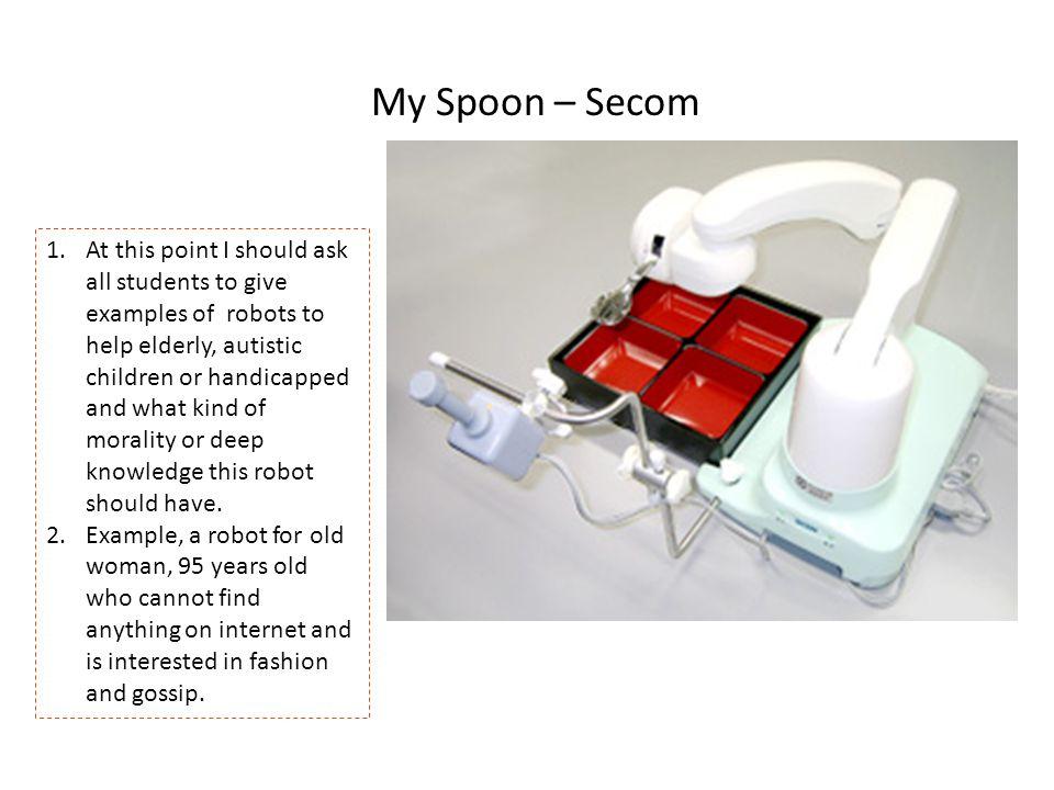 My Spoon – Secom