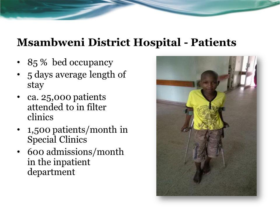 Msambweni District Hospital - Patients