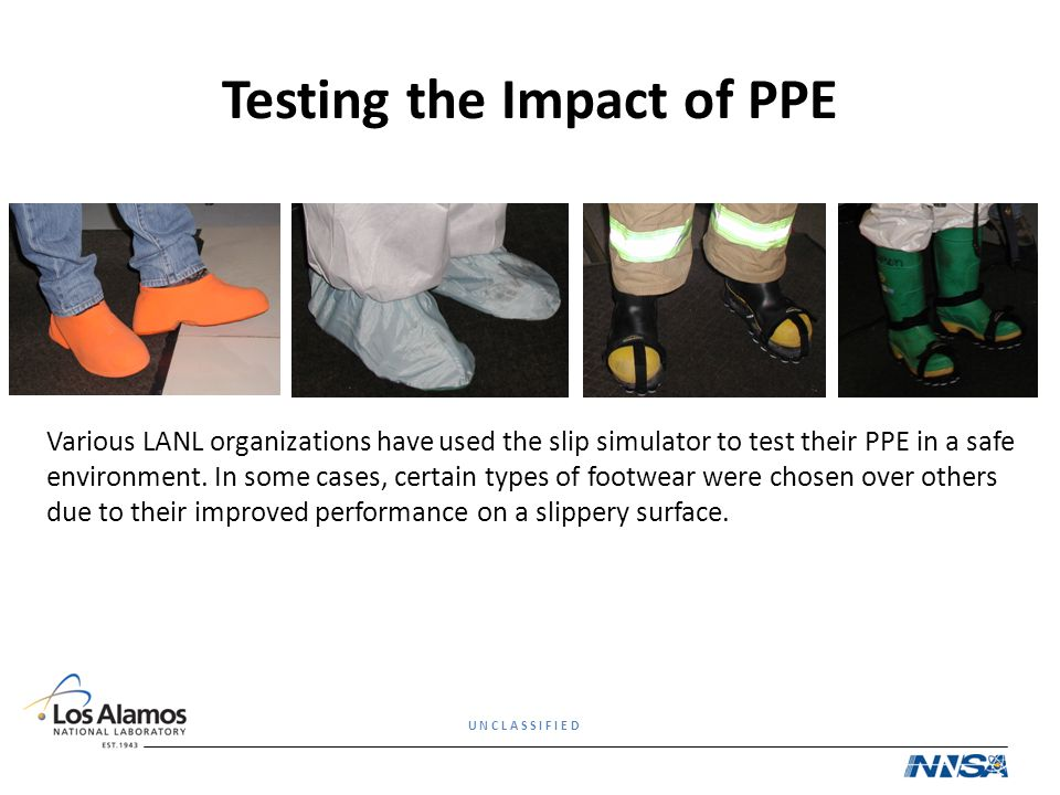 Testing the Impact of PPE