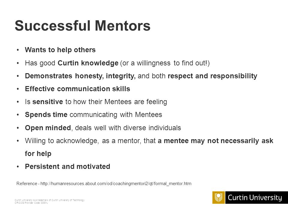 Successful Mentors Wants to help others