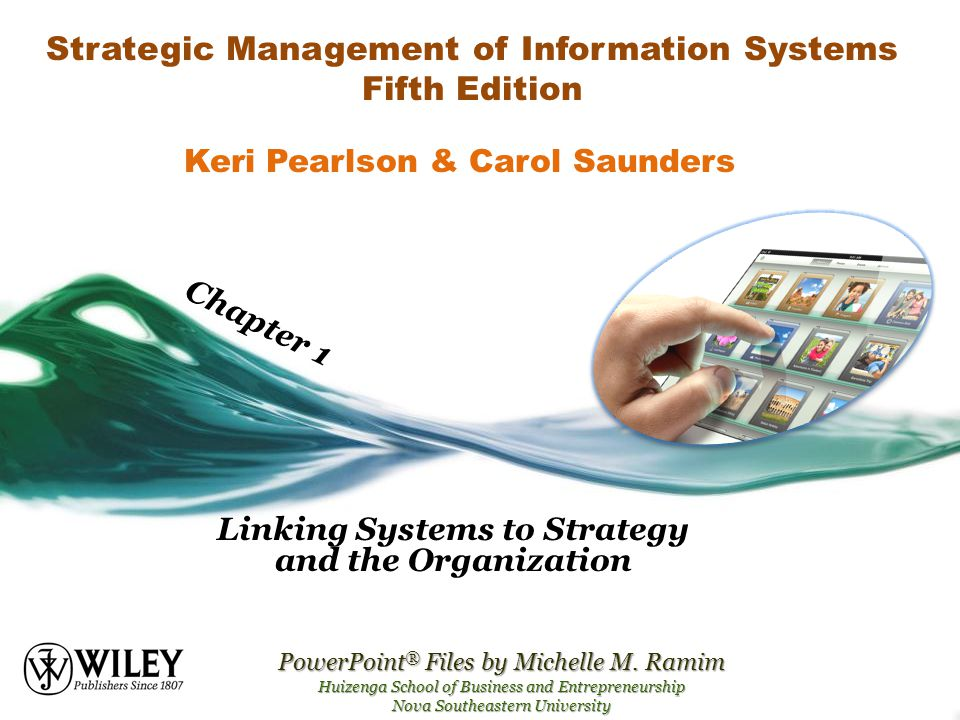 Strategic Management of Information Systems Fifth Edition