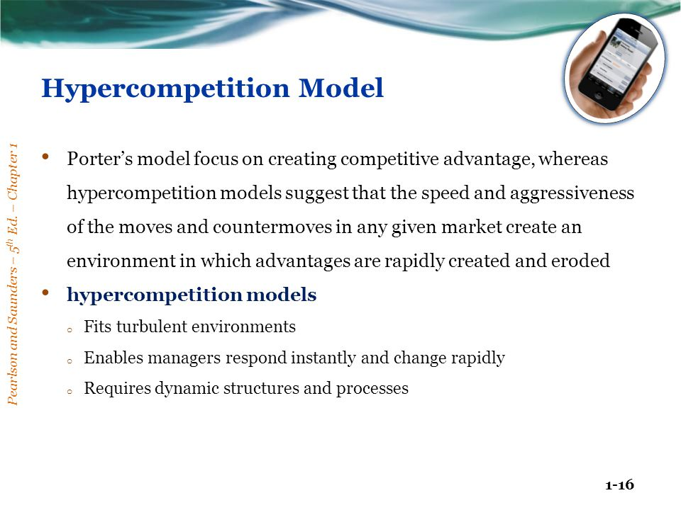 Hypercompetition Model