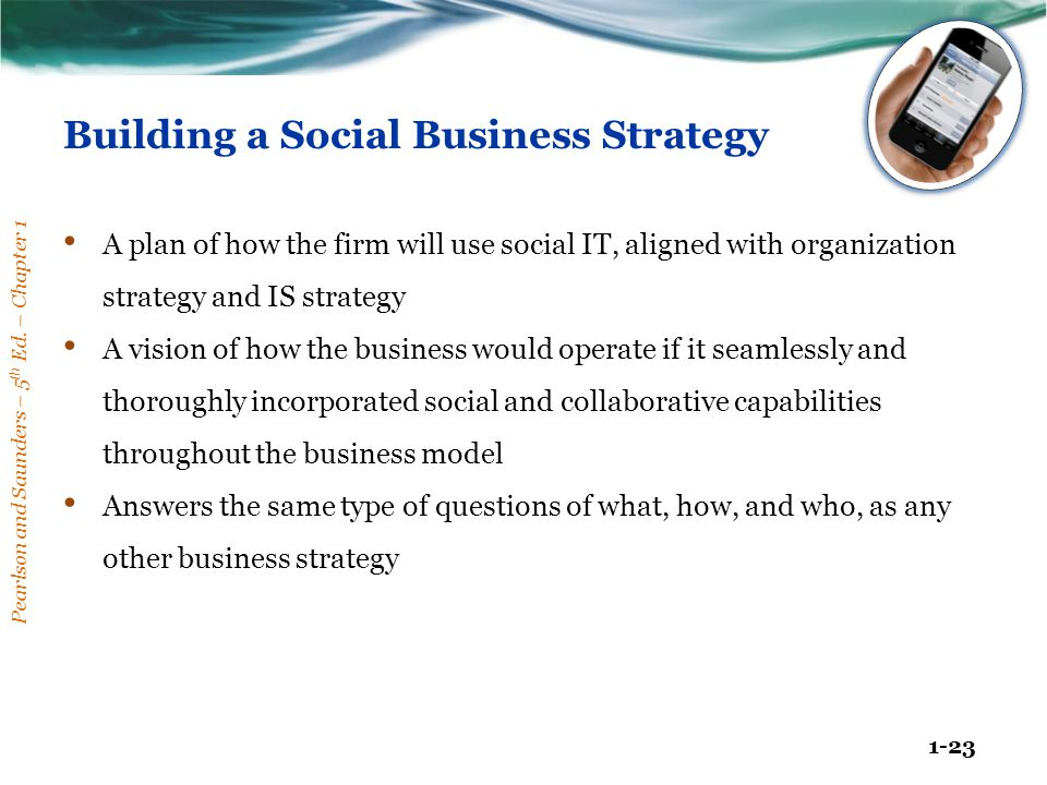 Building a Social Business Strategy