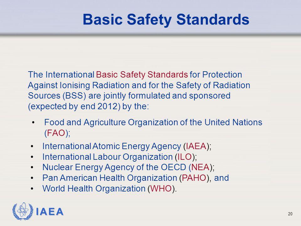 Basic Safety Standards
