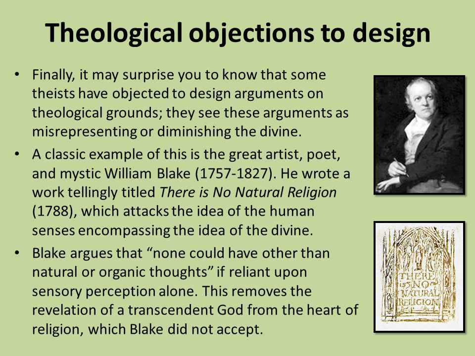 theological arguments William paley's teleological watch argument is sketched together with some objections to his reasoning.
