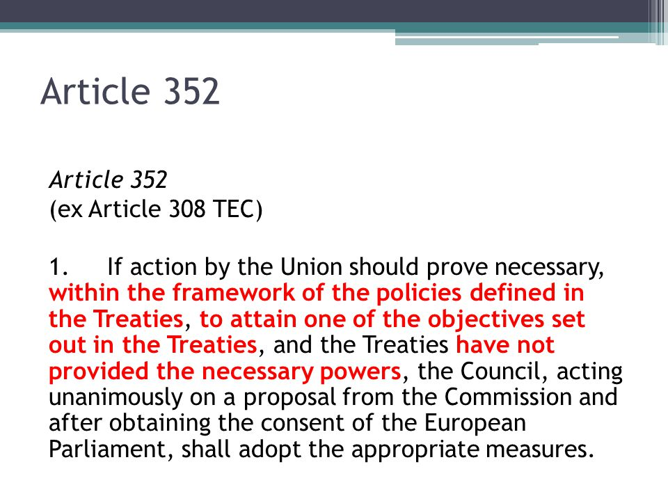 Article 352