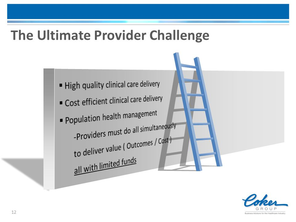The Ultimate Provider Challenge