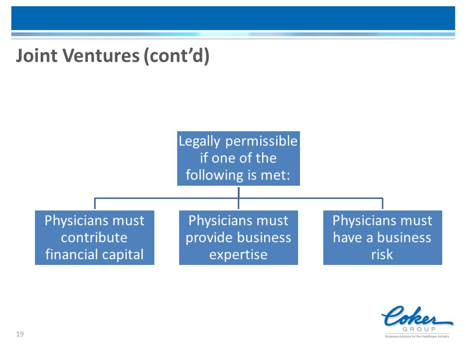 Joint Ventures (cont'd)