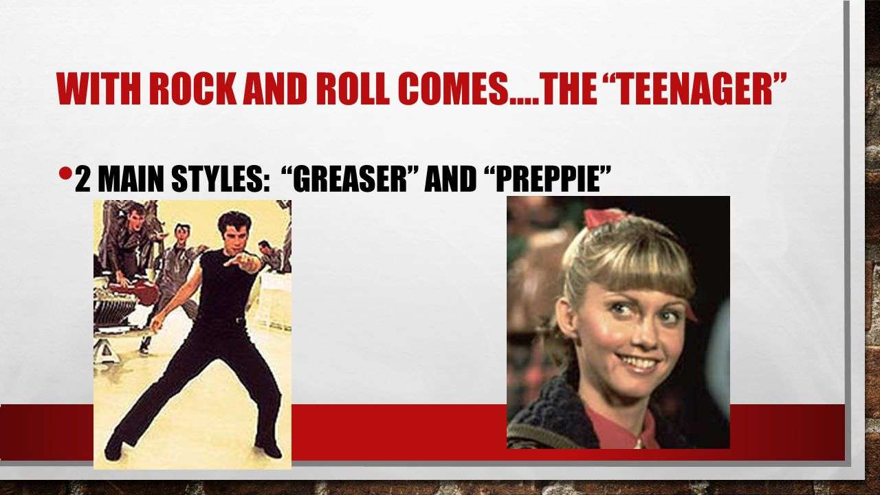 With Rock and Roll comes….the teenager